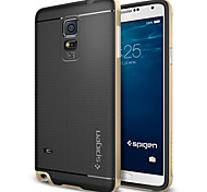 cheap -High Quality 2 in 1 Hybrid TPU+PC Case for Samsung Galaxy Note 4 N9100