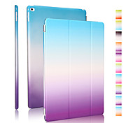 de bonne qualité en cuir PU arc gradient étui pour iPad 2 d'air