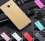 Для Кейс для  Samsung Galaxy Покрытие Кейс для Задняя крышка Кейс для Один цвет Металл Samsung A3