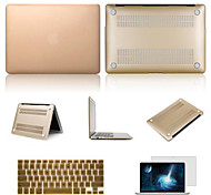 "cheap -Case for Macbook Pro 15.4"" Solid Color Aluminum Material Top Selling Solid Color Aluminum MacBook Case with Keyboard Cover and Screen Flim"