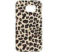 For Samsung Galaxy S7 Edge Pattern Case Back Cover Case Leopard Print PC Samsung S7 edge