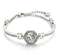 Hot New Charming Lovely Simple Bling Elegant Bracelet Bangle Party Jewelry For Women