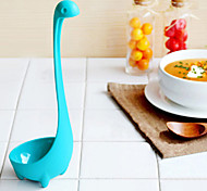 creativa cocina de cuchara pp estilo nessie - azul claro