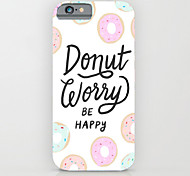 cheap -Personality in English Pattern PC Hard Back Case Cover for iPhone 6s 6 Plus