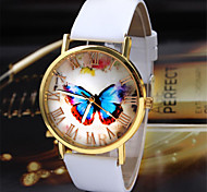 cheap -Vosicar New Arrival Womens Luxury Butterfly Style Fashion PU Leather Band Analog Quartz Wrist Watch Watches Hot Sale Cool Watches Unique Watches