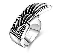 Недорогие -Кольца Мода Для вечеринок Бижутерия Сталь Женский Массивные кольца 1шт,Стандартный размер Черный