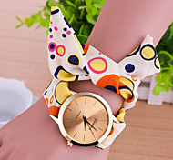 cheap -Women's European Style Fashion Colorful Little Circle Fabric Bracelet Watch Cool Watches Unique Watches