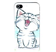 Custodia rigida per gatti di iPhone 4 / 4s
