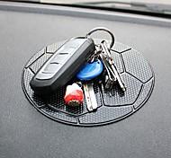 ziqiao Auto Armaturenbrett Fußball-Muster klebrige Auflage-Matte Anti Anti-Rutsch-Handy GPS-Halter Einrichtungsgegenstände Zubehör