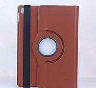 abordables -étui pour ipad mini 4/3/2/1 ipad 4/3/2 ipad air 2 ipad air avec support origami rotation à 360 ° coque complète couleur unie pu pour ipad pro 9.7 pro