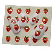 1pcs New  Lovely  Cartoon Water Transfer Nail Art Stickers Decoration ST01-08