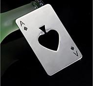 игральной карты туз пик покер панель инструментов бутылка соды пиво крышка нож подарочные