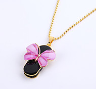 cheap -8GB Necklace Butterfly Jewelry USB 2.0 Rotatable Flash Memory Stick Drive U Disk ZP-01/ZP-04/ZP-09