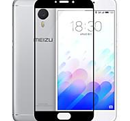 Недорогие -Meizu м3 протектор экрана примечание, премиум закаленного стекла 9h + твердость против царапин от ножа высокой четкости ультра ясный