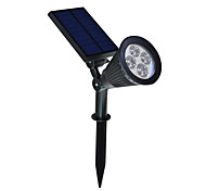 abordables -1 pieza Luces solares LED Luz Decorativa Solar Batería Recargable Impermeable