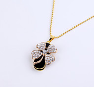 cheap -8GB Necklace Four Leaf Lucky Clover Jewelry USB 2.0 Rotatable Flash Memory Stick Drive U Disk ZP-03/ZP-22/ZP-24
