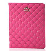 Недорогие -Новейшая мода корону пу кожаный планшет кейс подставка чехол для Ipad 2 воздуха (ассорти цветов)