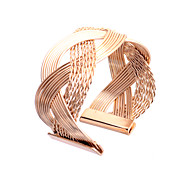 cheap -Women's Cuff Bracelet Simple Style Alloy Jewelry Party Daily Costume Jewelry