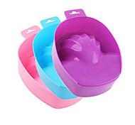 1шт ногтей для мытья рук для снятия замочить миску DiY маникюрный салон санаторно-курортное лечение ванны маникюрные инструменты (цвет