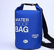 5 L Водонепроницаемый сухой мешок Водонепроницаемая сумка Водонепроницаемость Компактный для Велосипедный спорт/Велоспорт Отдых и туризм