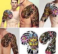 проверить лучший половину рукава татуировки для мужчин (2 шт)