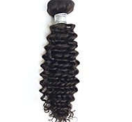 8-26inch Brazilian Virgin Hair Deep Curly Natural Black Color ,Cheap Brazilian Hair Raw Human Hair Weaves.