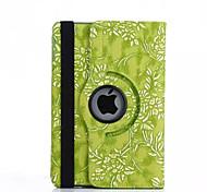 360 Degree Grape Grain PU Leather Flip Cover Case for iPad Mini 4(Assorted Colors)
