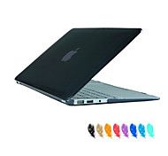 """Case for Macbook Air 11.6"""" MacBook Pro 13.3""""/15.4"""" with Retina display Solid Color ABS Material Crystal Clear Full Body Case Cover"""