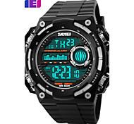 Herrn Sportuhr Kleideruhr Smart Uhr Modeuhr Armbanduhr Einzigartige kreative Uhr Digitaluhr Chinesisch digital LCD Kalender Chronograph