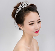 cheap -Women's Pearl Crystal Alloy Hair Jaw Clip Flower