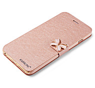 cheap -For iPhone X iPhone 8 iPhone 6 iPhone 6 Plus Case Cover Card Holder with Stand Flip Full Body Case Glitter Shine Hard PU Leather for Apple