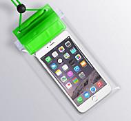 Недорогие -Сухие боксы Сотовый телефон Защита от влаги Подводное плавание и снорклинг PVC Красный Желтый Зеленый Синий Фиолетовый Черный