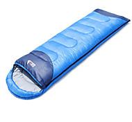 Спальный мешок Прямоугольный Односпальный комплект (Ш 150 x Д 200 см) 15°C Пористый хлопокX80 Пешеходный туризм ПоходыСохраняет тепло