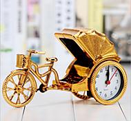 творческий ретро рикши сигнализация настольные украшения из пластика ночных часов