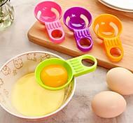 Mini Egg White Yolk Separator Practical Egg Vitellus White Divider Kitchen Utensils Cooking Random Color