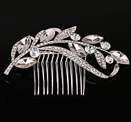 cheap -Women's Party Wedding Crystal Imitation Pearl Hair Comb