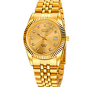 cheap -Men's Fashion Watch Selling Models Inlaid Metal Belt Calendar Waterproof Automatic Mechanical Watches Wrist Watch Cool Watch Unique Watch