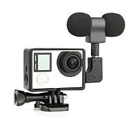 Гладкая Рамка Стандартная рамка Микрофон 3,5 мм Мини Защита от пыли Для Экшн камера Gopro 5 Gopro 4 Gopro 4 Black Gopro 3 Gopro 3+