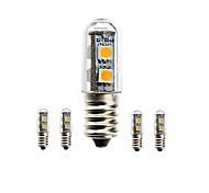 abordables -SENCART 1.5W 3000-3500/6000-6500/7500-8500 lm E14 Bombillas LED de Mazorca Luces Empotradas 7 leds SMD 5050 Impermeable Decorativa Blanco