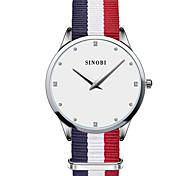 SINOBI® Women's Watch Classic Slim Casual Watches For Luxury Brand Fashion Clock Males Quartz Wristwatch Cool Watches Unique Watches