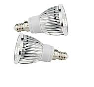 abordables -2.5W 200-250 lm E14 Focos LED 1 leds COB Blanco Cálido Blanco Fresco AC 85-265V