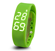 Smart Bracelet / Activity TrackerCalories Burned / Temperature Display / Water Resistant/Waterproof / Timer / Pedometers / Distance