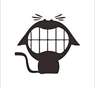 Недорогие -Пейзаж Животные Продукты питания Мультипликация Наклейки Простые наклейки Декоративные наклейки на стены Наклейки для туалета, Винил
