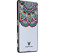 3D Relief Graphic Pattern Fashion Silicone Material Back Cover for Sony Xperia Z5