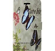 Чехол для huawei p8 lite 2017 p10 розовая бабочка полная крышка корпуса с картой и футляром для p6 p7 p8 p8 lite p9