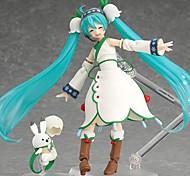 economico -Figure Anime Azione Ispirato da Vocaloid Hatsune Miku 19 CM Giocattoli di modello Bambola giocattolo