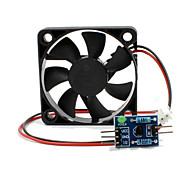 Недорогие -модуль двигателя регулирования скорости вентилятора + вождение платы для arduinopwm модуля управления вентилятором для Arduino научных