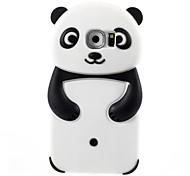 Cute Cartoon Panda Model Silicon Material Cover Case For Galaxy S7 edge/S7/S6/S5/S4/S4 Mini/S3 Mini Mobile Phone Sets