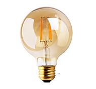 abordables -1pc ≥180 lm E26/E27 Bombillas de Filamento LED G80 2 leds COB Decorativa Blanco Cálido AC 220-240V