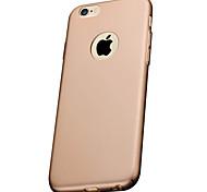 Недорогие -iphone 7 плюс высокое качество матовая защитная задняя крышка жесткий чехол ПК iphone для iphone яблоко 5s / Iphone SE / iphone 5